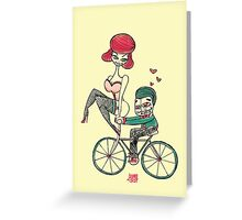 LOVE RIDE Greeting Card