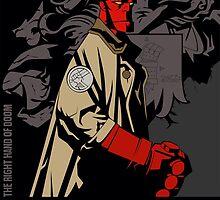 Hellboy  by DafneSt