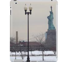 Statue of Liberty, View from Liberty State Park, New Jersey  iPad Case/Skin