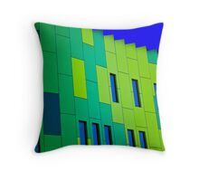 Contemporary Architecture Throw Pillow