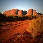 Sunset on Kata Tjuta by Keiran Lusk