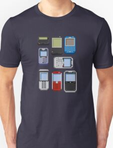 Pixel History (BlackBerry) T-Shirt