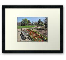Tulip Time at Mill Creek Park Framed Print