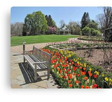 Tulip Time at Mill Creek Park Canvas Print