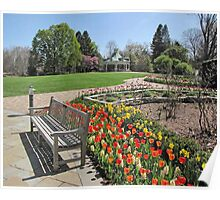 Tulip Time at Mill Creek Park Poster
