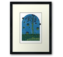 Gateway to Dream, after the Flammarion Engraving Framed Print