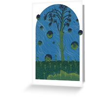 Gateway to Dream, after the Flammarion Engraving Greeting Card