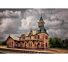 Train Station At Point Of Rocks Photographic Print