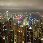 Hong Kong at Night by Robert Scammell