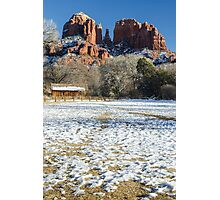 Sedona Winter Photographic Print