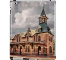 Train Station At Point Of Rocks iPad Case/Skin