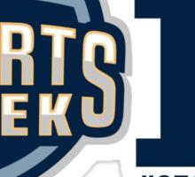 Sports Geek #SEATLONDON Sticker