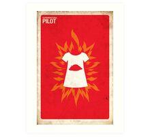 Supernatural 1x01 - Pilot Art Print
