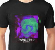 T A M E // M I D N I G H T  F L O W E R V2 Unisex T-Shirt