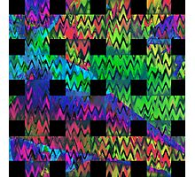 Color Waves Photographic Print