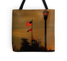 That star-spangled banner yet wave Tote Bag