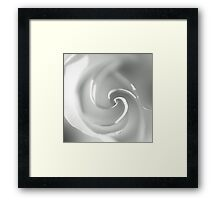White II Framed Print