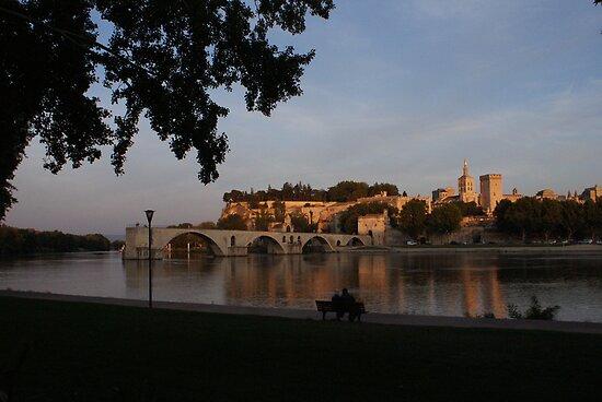 Avignon in Gold by fuji04