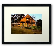 Craigmoor (1875) - Hill End - The HDR Series Framed Print