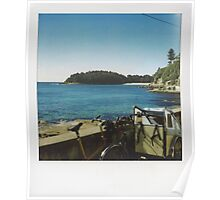 WInter at Shelly Beach Poster