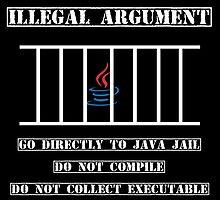Illegal Argument - Java by ErikBlack