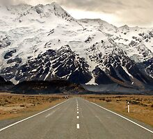 The Road to Aoraki by llemmacs