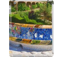 Gaudi's Park Guell - Impressions Of Barcelona iPad Case/Skin