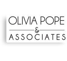 Olivia Pope & Associates Canvas Print