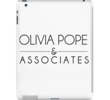 Olivia Pope & Associates iPad Case/Skin