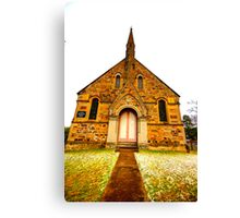 St Paul Pray For Us - Hill End - The HDR Series Canvas Print