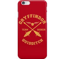 Gryffindor - Team Seeker iPhone Case/Skin