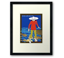 Welcome to OZ Framed Print