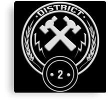 District 2 - Masonry Canvas Print