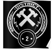 District 2 - Masonry Poster