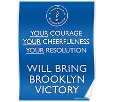 Bring Brooklyn Victory Poster Poster