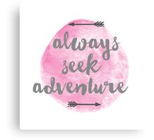 Adventure Seeker Canvas Print