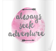 Adventure Seeker Poster