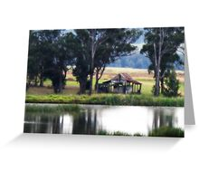 Country Scene - Pokolbin - Hunter Valley Greeting Card