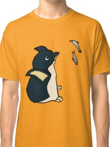Penguin Searching For Fish Classic T-Shirt
