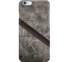 Vintage Barbed Wire Fence iPhone Case/Skin