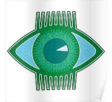 Big Green Eye Poster