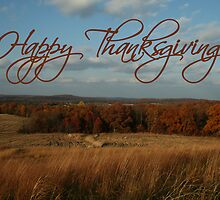 Happy Thanksgiving by Sue Ellen Thompson
