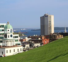 Old Town Clock On Citadel Hill by HALIFAXPHOTO