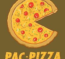 PAC PIZZA! by zuerastore