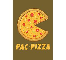 PAC PIZZA! Photographic Print