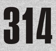 314 St. Louis | Phone Area Code Shirts by FreshThreadShop