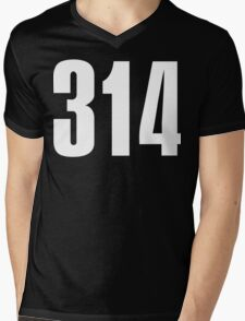 314 St. Louis | Phone Area Code Shirts Mens V-Neck T-Shirt