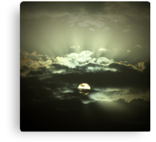 Moroccan Sky Canvas Print