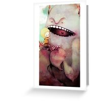 Monster Toothache Greeting Card