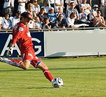 Goal Keeper kicks .. by terjekj